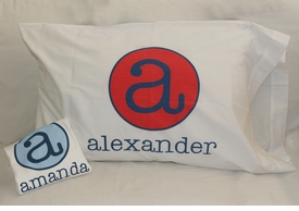 personalized pillow case (the texan)