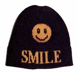 personalized smiley face hat