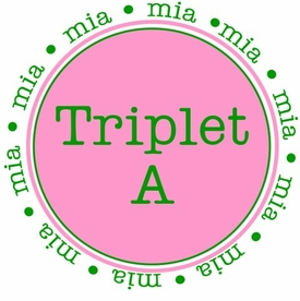 personalized triplet a b c shirt