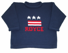 personalized USA sweater