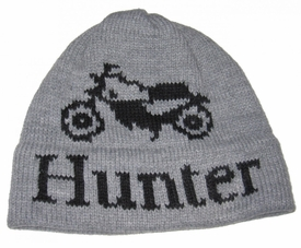 personalized vintage motorcycle hat