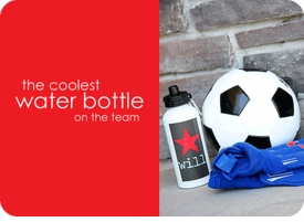 personalized water bottle for boys