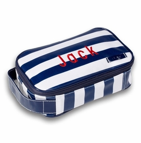 personalized wellie cosmetic toiletry case