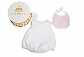 Pima Cotton Pique Bubble Gift Set - Pink