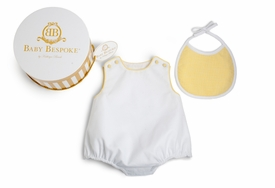 Pima Cotton Pique Bubble Gift Set - Yellow