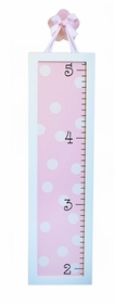 pink  growth chart