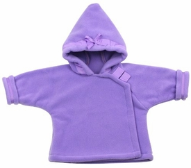 polartec fleece jacket - lavender by widgeon