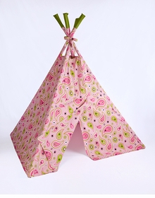 pretty paisley teepee by teepee for me