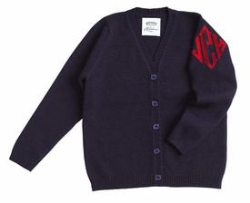queen of cashmere monogrammed childrens cardigan