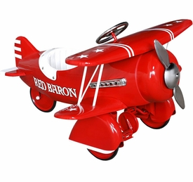 red baron classic pedal plane