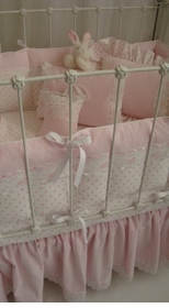 rosie hearts crib bedding