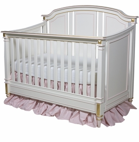 Sailor Crib White And Pink
