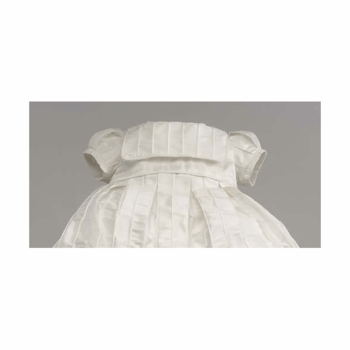 "silk christening dress - ""florence"""