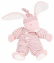 sleepyhead bunny - pink 15 inch by north american bear