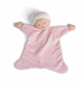 sleepyhead cozy rosey cheek pink by north american bear