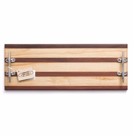soundview millworks nautical cleat serving handle board
