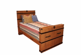 steamer trunk bed
