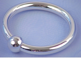 sterling silver single ring rattle