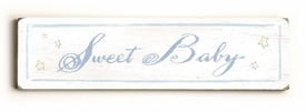 sweet baby a vintage sign