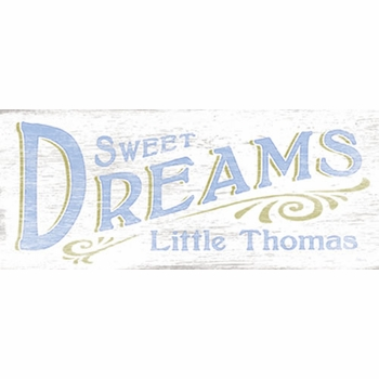 sweet dreams lavender vintage sign
