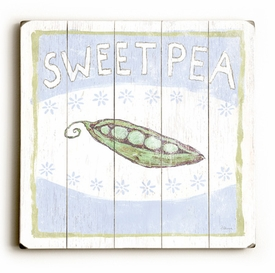 sweet pea vintage sign