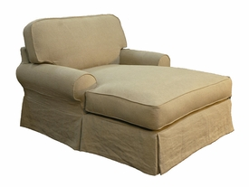 t-back chaise lounge by Taylor Scott collection