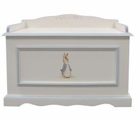 vintage toy chest (classic enchanted forest)