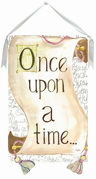 wall hanging - once upon a time