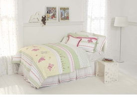 whistle & wink butterfly party kid bedding