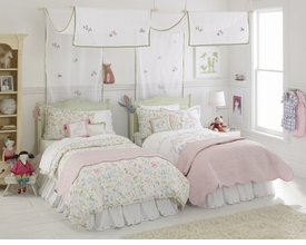 whistle & wink princess twin bedding