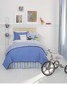 whistle & wink stars and stripes kid bedding