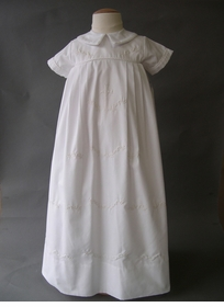white christening gown (boy)