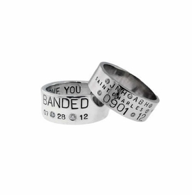 wide band wedding ring set with diamonds