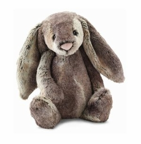 woodland babe bunny by jellycat