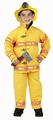 Jr. Firefighter Costume - Yellow