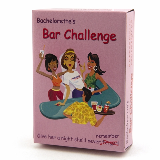 Bachelorette Bar Challenge Game - Clearance!