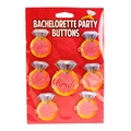 Bachelorette Party Button Set