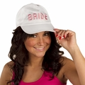 Bride Baseball Cap - White