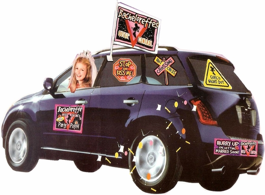 Pimp Your Ride with the Car Decorating Kit