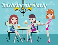 Free Bachelorette Party Invitations - Dinner Party