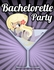 Free Bachelorette Party Invitations- Martini