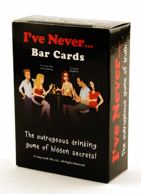 I've Never ... Bar Cards