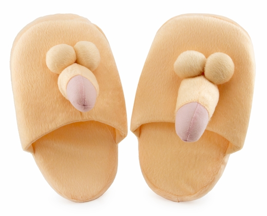 Penis Slippers - Fun To Stomp Around In
