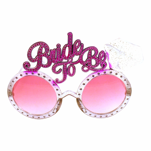 Rose-Colored Bride to Be Glasses