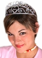 The Bachelorette tiara shown in the photograph is available here.