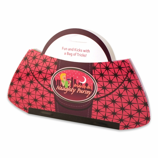 The Naughty Purse - Includes 20 Dirty Vouchers for Fun at the Bar!