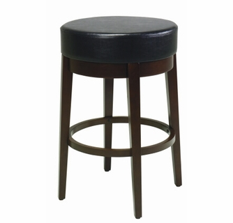 Phenomenal Espresso Round Backless Metro Counter Stools Unemploymentrelief Wooden Chair Designs For Living Room Unemploymentrelieforg