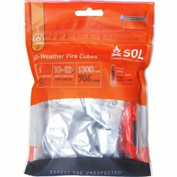 Click to enlarge image of Adventure Medical Kits SOL All-Weather Fire Cubes