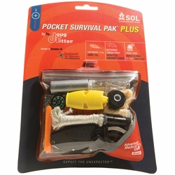 Click to enlarge image of Adventure Medical Kits SOL Pocket Survival Pak PLUS