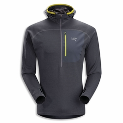 Click to enlarge image of ARC'TERYX Konseal Hoody 3/4 Zip Fleece (Men's)